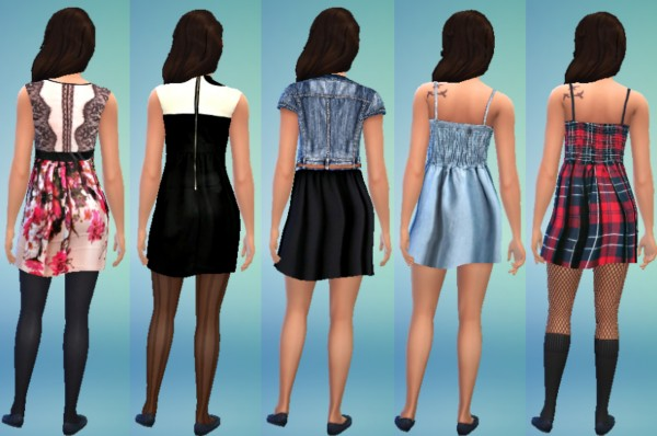 Jietia Creations: Dress set 1