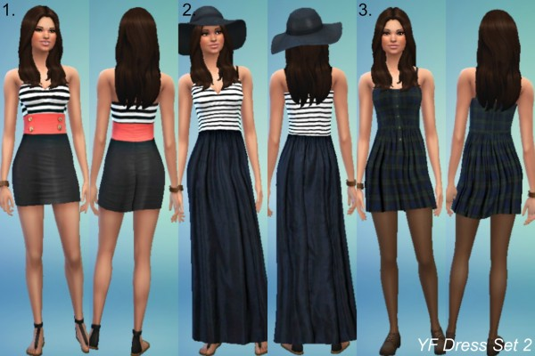 Jietia Creations: Dress set 2