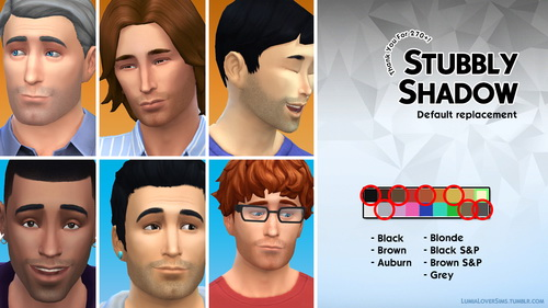 Lumia Lover Sims: Stubble shadow