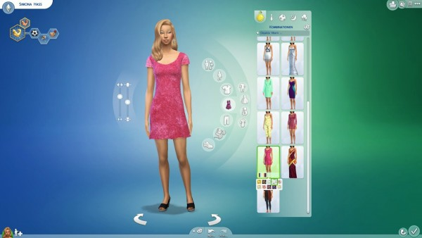 19 Sims 4 Blog: Recolored Dress