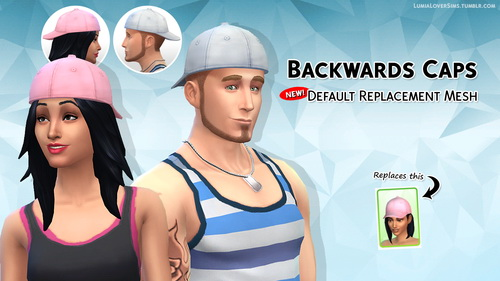 Lumia Lover Sims: Baseball cap