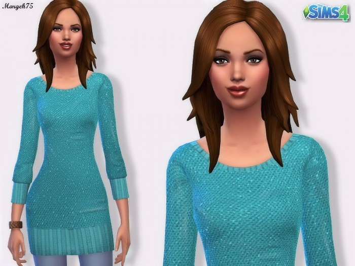 Sims 3 Addictions: Sequin Jumper  by Margeh75