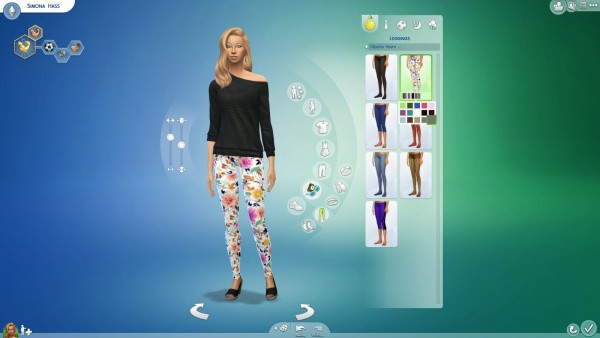 19 Sims 4 Blog: Leggings 1