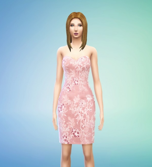 Sims Addicted: 2 Lace Dresses