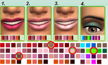 Jietia Creations: Makeup set 2
