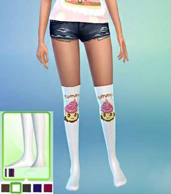 Welcome: Owl tshirt, Muffin tights and Cake tank top