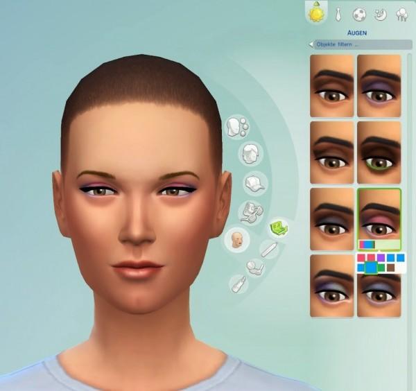 19 Sims 4 Blog: Eyeshadow 1