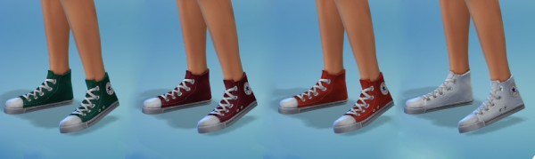 Miss Paraply: All Star Shoes