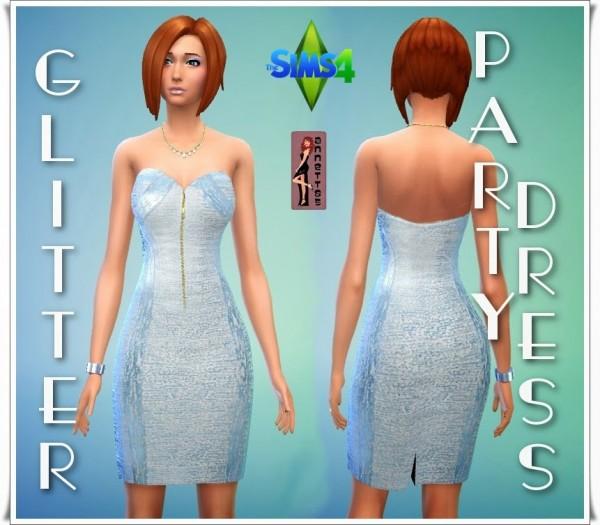 Annettssims4welt: Glitter Party Dress
