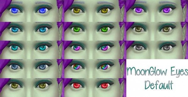 Stars Sugary Pixels: Moon glow default eyes
