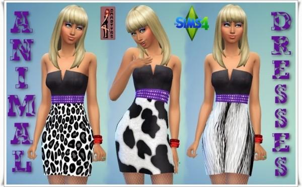 Annett`s Sims 4 Welt: Animal Dresses