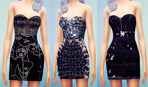 MissFortune Sims: Dresses   Skirts   Tops