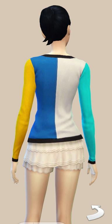 JS Boutique: Color Block Cardigan