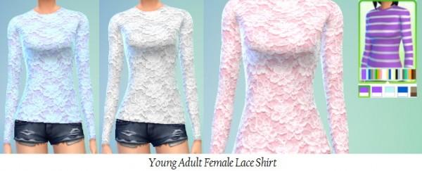 Jietia Creations: Lace shirt