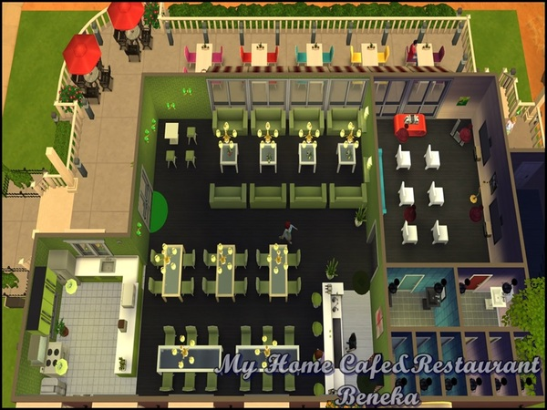 The Sims Resource: My Home Cafe & Restaurant