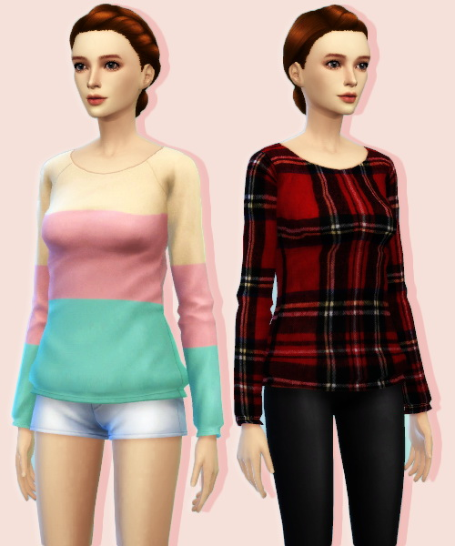 JS Boutique: Sweater Pack 3   new Mesh
