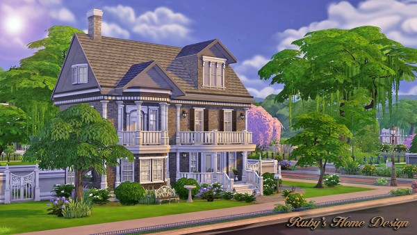 Ruby`S Home Design: The Chocolate House • Sims 4 Downloads