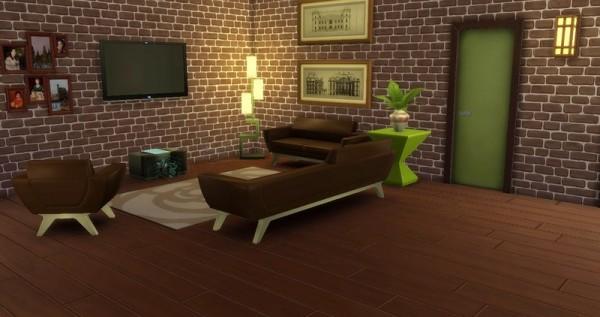 Ihelen Sims: Pistachio in chocolate by Dolkin
