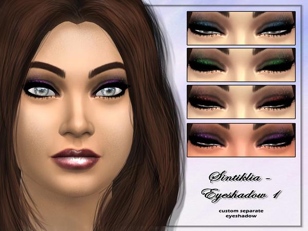 The Sims Resource: Eyeshadow 1 by Sintiklia