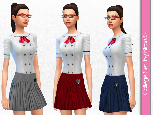 The Sims Resource: College Set by Birba 32