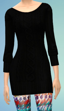 The simsperience: 4 Sweater Dresses