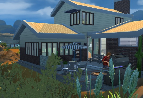 Architectural tricks from Dalila: Budget home