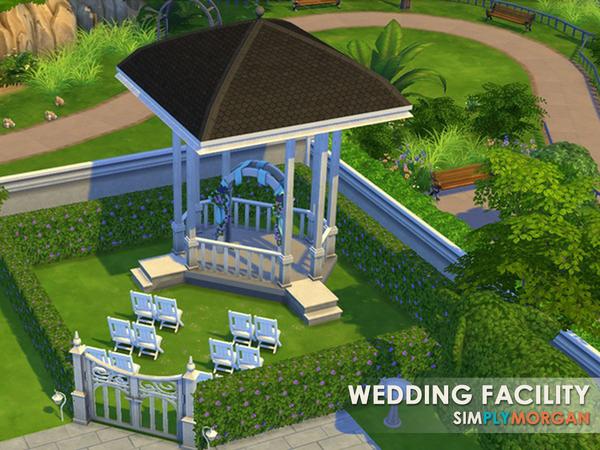 The Sims Resource: Elegant Wedding Facility by SimplyMorgan77