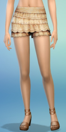 The simsperience: 10 Frilly Shorts