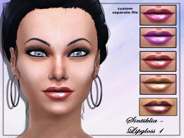 The Sims Resource: Lipgloss 1 by Sintiklia