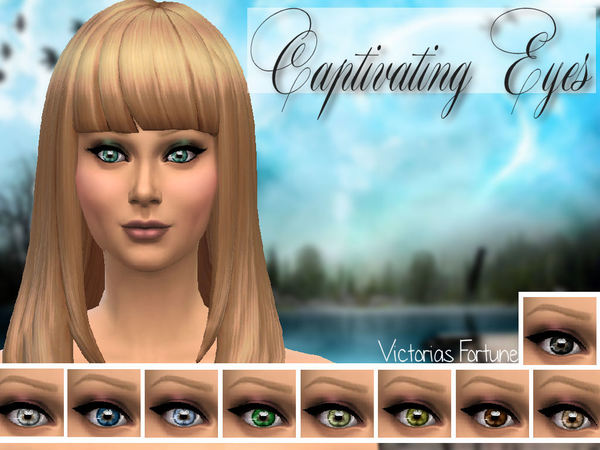 The Sims Resource: Captivating Eye Collection by Fortunecookie1