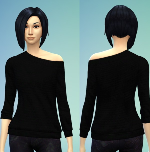 The simsperience: 2 Off Shoulder Sweaters