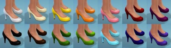 The simsperience: 14 High Heels
