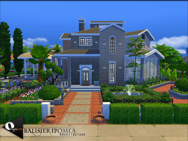 The Sims Resource: Balisier Ipomea house by Onyxium
