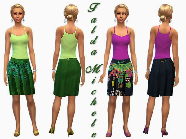 SimControl: Michele dress by Pilar