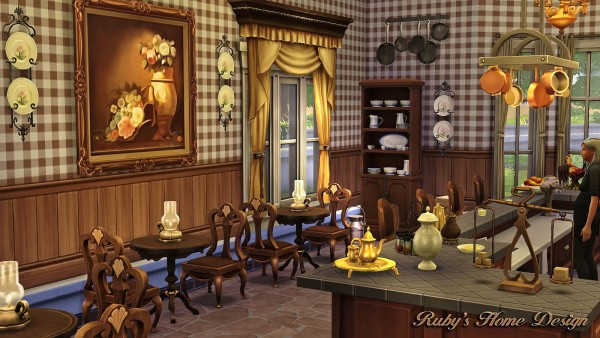 Ruby`s Home Design: Granny\'s Kitchen • Sims 4 Downloads
