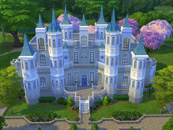 The Sims Resource Cinderella S Castle By Cm 11778 Sims