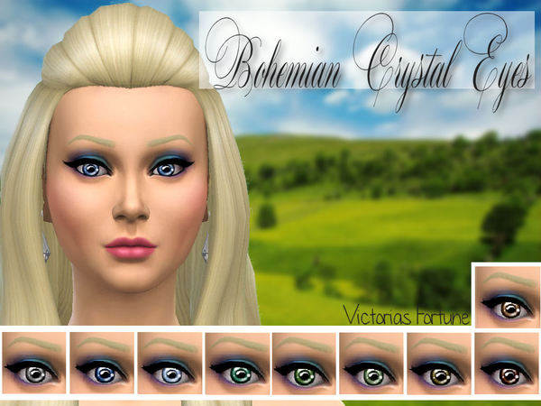 The Sims Resource: Bohemian Crystal Eyes by Fortunecookie1