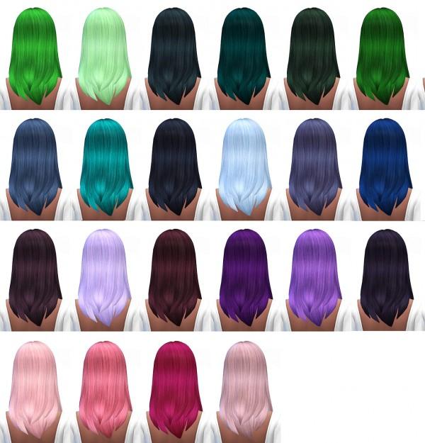 Miss Paraply: Hair retexture / default / 45 colors