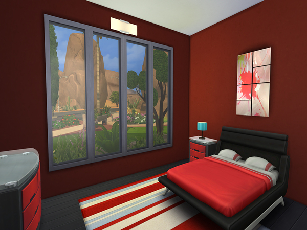 The Sims Resource: Phoenix   Modern Single Family House by Val111