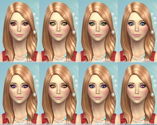 Default Eyes Sims 4 CC