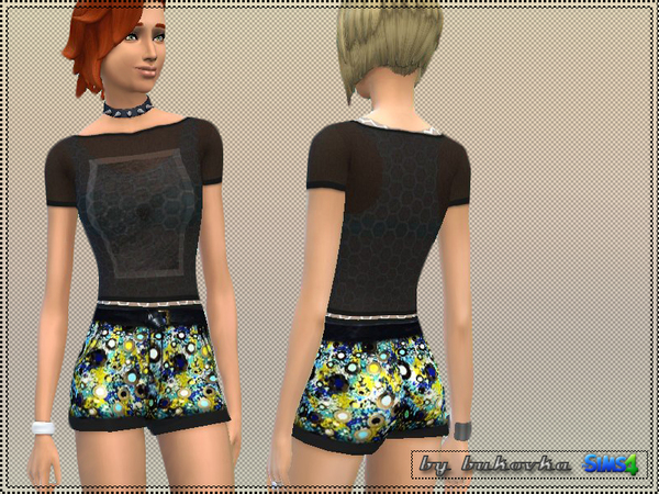 The Sims Resource: Stylish look outfit by Bukovka