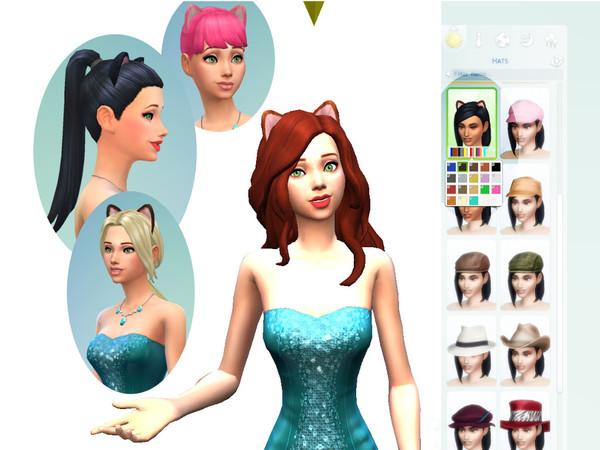 The Sims Resource: Neko Ears by Cheetaro