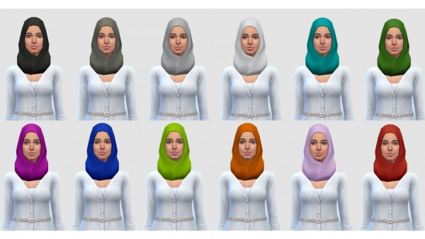 Lumia Lover Sims: Hijab/Burqa scarf
