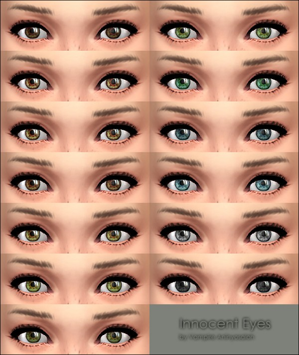 mod the sims innocent eyes by vampire aninyosaloh sims
