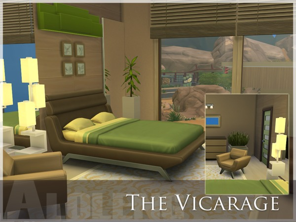 The Sims Resource: The Vicarage House