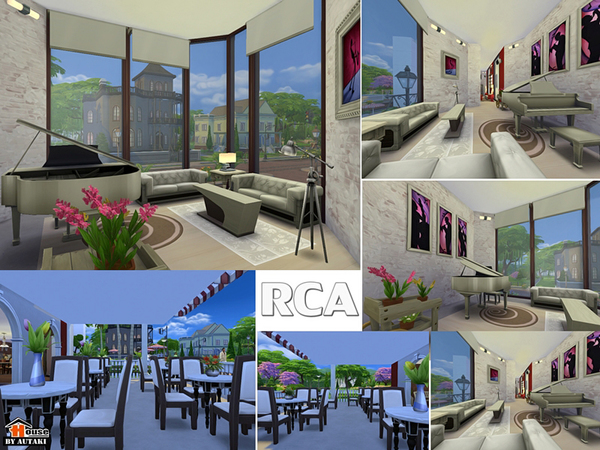The Sims Resource: RCA Bar and Restaurant  by Autaki