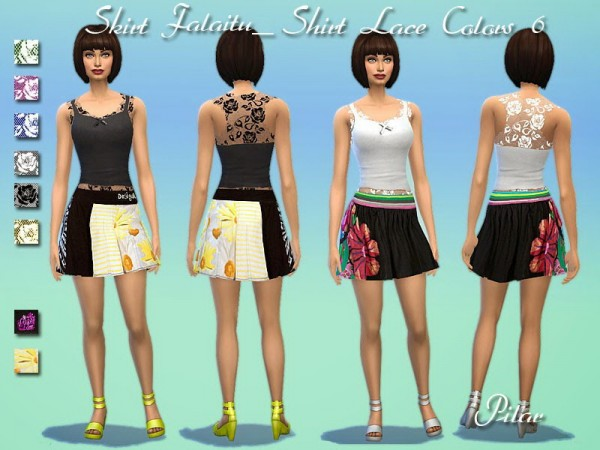 SimControl: Outfit by Pilar