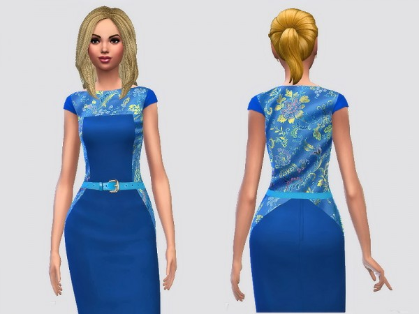 Sims 3 Addictions: Chinese Silk Dresses by Margies Sims