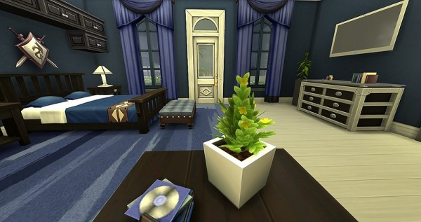 Ihelen Sims: Vision men bedroom by Dolkin