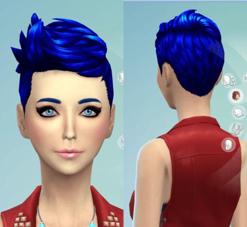 Darkiie Sims 4 9 Non Default Hair Recolors Sims 4 Downloads
